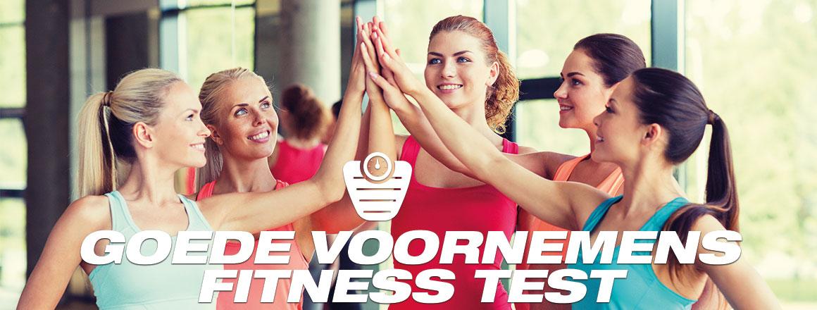 Goede Voornemens Fitness Test